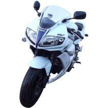 Pyramid Plastics Suzuki SV 650 S Fairing Lowers Gloss White (YBD) 2003>2015 | 20665C