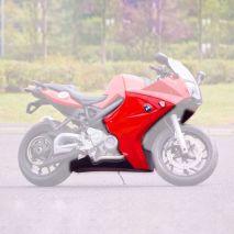 Pyramid Plastics BMW F800 S Fairing Lowers Gloss Red 2005>2012 | 245000D