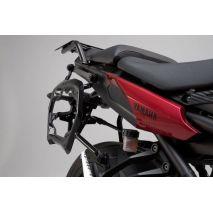 SW-Motech Adventure set Luggage. Silver. Yamaha MT-09 tracer (14-18). | ADV.06.525.75001/S