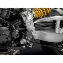 Rizoma Rear Set Control Kit, Black Anodized   PE220B