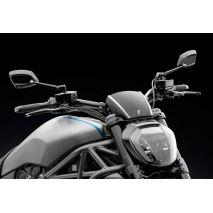 Rizoma Billet Aluminium Headlight fairing with Adapter, Black Anodized   ZDM145B