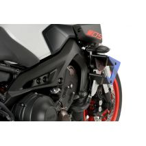 Puig Downforce Naked spoilers for motorcycle Yamaha MT-09 2017, Blue   20380A